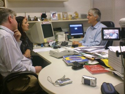 Making of de entrevista do Projeto 75x75
