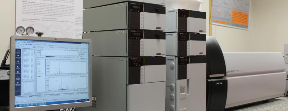 UFLC-XR LCMS-8040 (apoio SHIMADZU DO BRASIL)